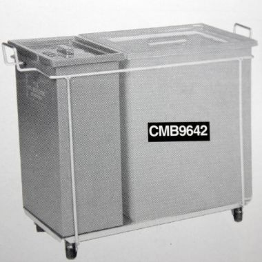 Multi Bin Trolley (1 x 96L & 1 x 42L Bins)