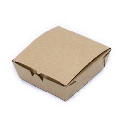 BetaBoard™ Takeaway Brown Kraft Lunch Boxes