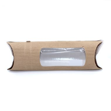 BetaSleeve™ Brown Kraft Takeaway Wrap Packs - Long