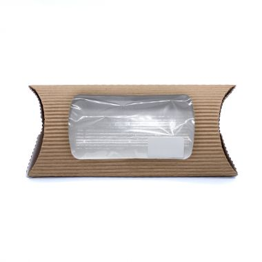 BetaSleeve™ Brown Kraft Takeaway Wrap Packs - Short
