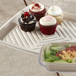 Sabert™ Compostable Platters and Trays