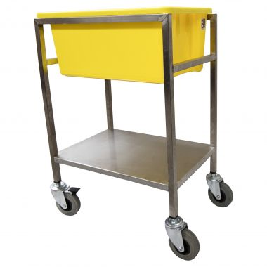 Stock Picking/Crate Trolley with 52L Crate (MP10)