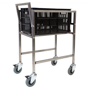 Stock Picking/Crate Trolley with Lug Box