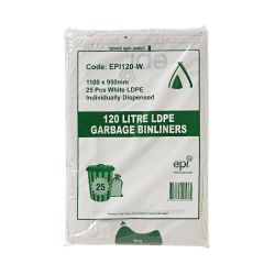 100% degradable HDPE Bin Liners