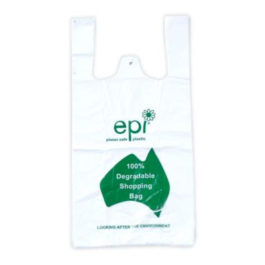 100% Degradable Large Disposable Carry Bag