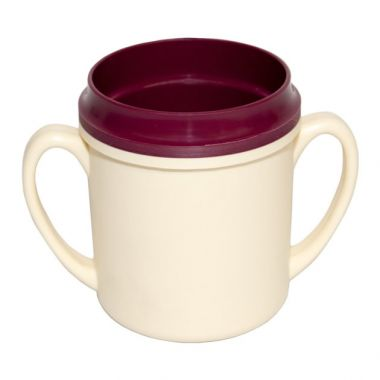 Mug Double Handle Insulated 250ml